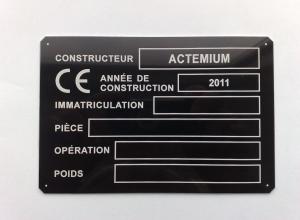 etichete metalice - CE