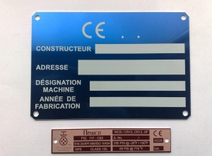 etichete metalice - identificare