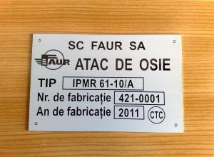 etichete metalice - osie