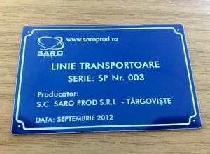 etichete metalice - saroprod