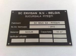 etichete metalice - envisan