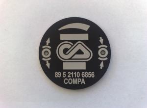 etichete metalice - compa