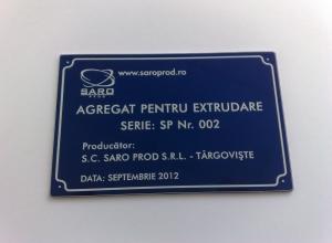 etichete metalice - extrudare