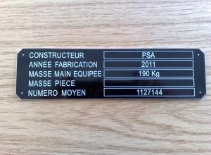 etichete metalice - psa